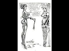 vintage lesbo whipping bondage comic