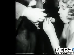 lady desires to be a movie star in retro porn film
