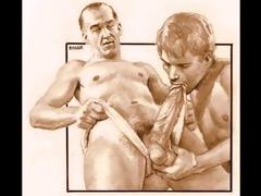 vintage male erotica