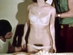 vintage erotica 1970s hairy pussy angel has sex
