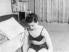 authentic vintage porn 1950s shaved pussy, voyeur
