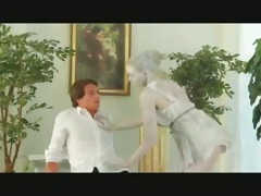 hot angel in costume receives fucked