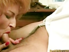 horny redhead chick receives hammered