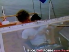 jack wrangler acquires fucked on a boat in