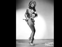 vintage - galactic burlesque superstars sequence!