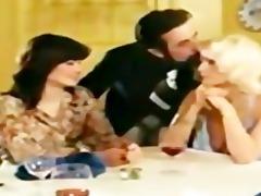 lesbian babes seka in retro movie