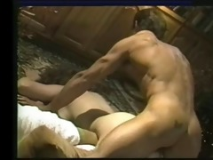 little oral annie bows for a pounding