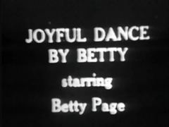 vintage stipper film - b page joyful dance