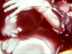 vintage interracial (ffm) threesome