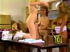 classic and lovely lesbian threesome with trinity