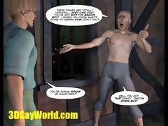 jack &; beanstalk 3dgay cartoon comic