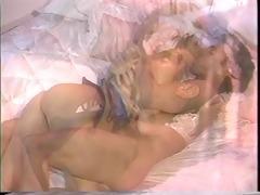 blonde starlet sharon kane in 80s scene with