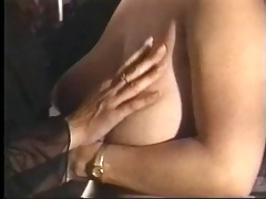 two lesbian brunettes eat and finger pussy