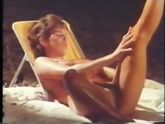woman fantasies of camping - (great vintage lesbo