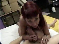 hot classic cougar pov oral pleasure